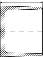 Заглушка для раструба P